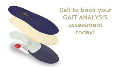call to book your gait analysis assessment today